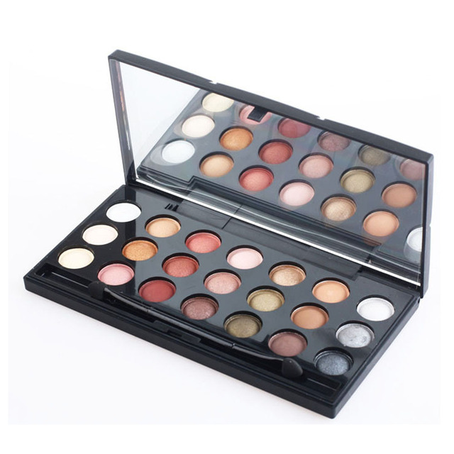 New 21 Color Eyeshadow Makeup Set For Women Eye Makeup Cosmetic Professional Matte Eyshadow Palette With Brush