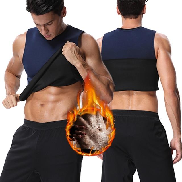 Miss Moly Neoprene Shapers Men Body Shaper Promote Sweat Waist Trainer Tummy Slimming Shapewear Male Modeling Belt Losing weight