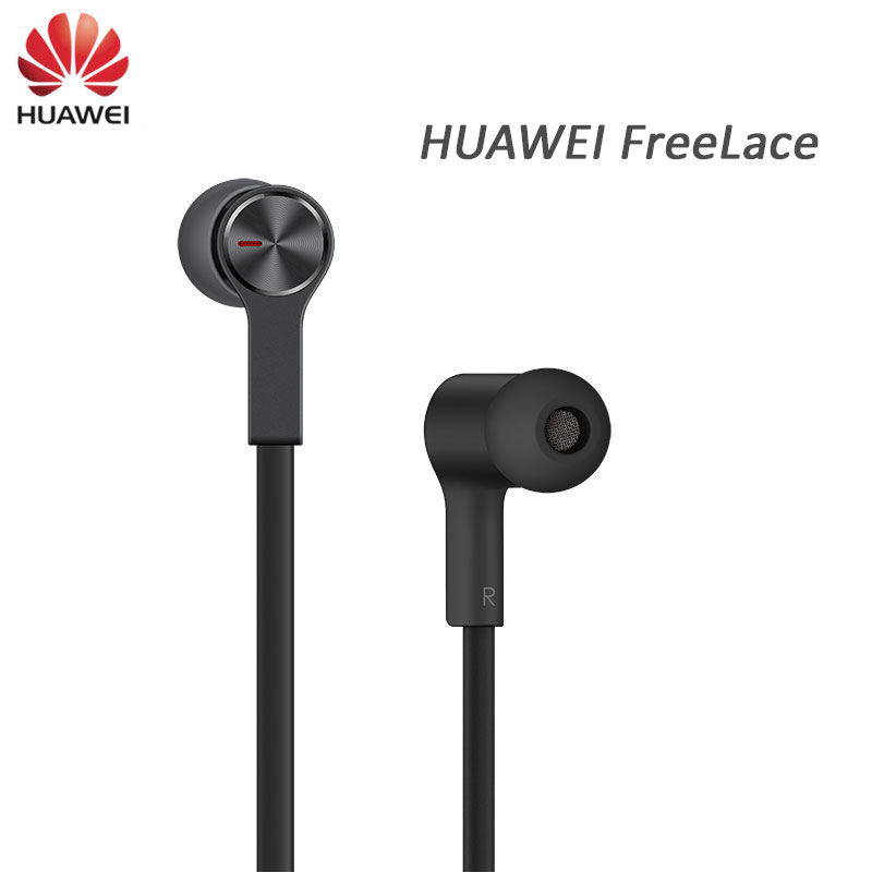 Huawei FreeLace Sport Earphones wireless Bluetooth IP55 waterproof in ear Memory Cable Metal Magnetic Switch Fast