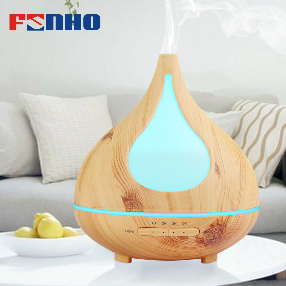 FUNHO 300m Air Aroma Humidifier Essential Oil Diffuser Aromatherapy Night Light Ultrasonic Classic Mist Maker For Household X030 цена и фото