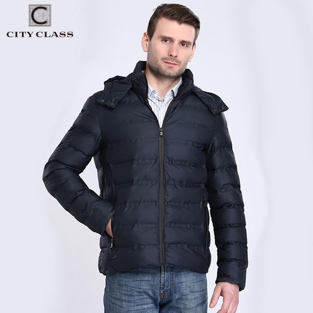 Город класса, новый Толстая теплая зимняя куртка Для мужчин пальто Fishion хлопок-мягкий съемный капюшон мужской верхней одежды Бесплатная доставка 2901