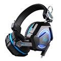 Each gs210 colorido led pc gaming headset auriculares gamer casque audio Estéreo Con Micrófono Fone De Ouvido auriculares Para PS4 Gamer