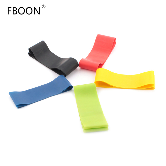 Elastic Resistance Bands Workout Rubber Loop For Fitness Gym Strength Training Elastic Bands Athletic Fitness Equipment Expander