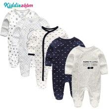 Комбинезоны для маленьких мальчиков; Мягкие хлопковые детские комбинезоны унисекс; Одежда для новорожденных; Roupas de bebe Infantis; комплект одежды для девочек с длинными рукавами