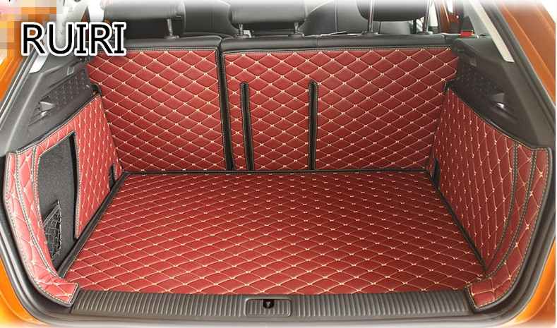 2018 Newly! Special trunk mats for Audi A3 5doors hatchback 2018 2012 durable cargo liner boot carpets for A3 2015,Free shipping