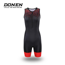 69ca9efa4 DONEN Professional Cycling Jersey athletic swimwear Ironman triathlon tri  training cycling running biking Woman sport(