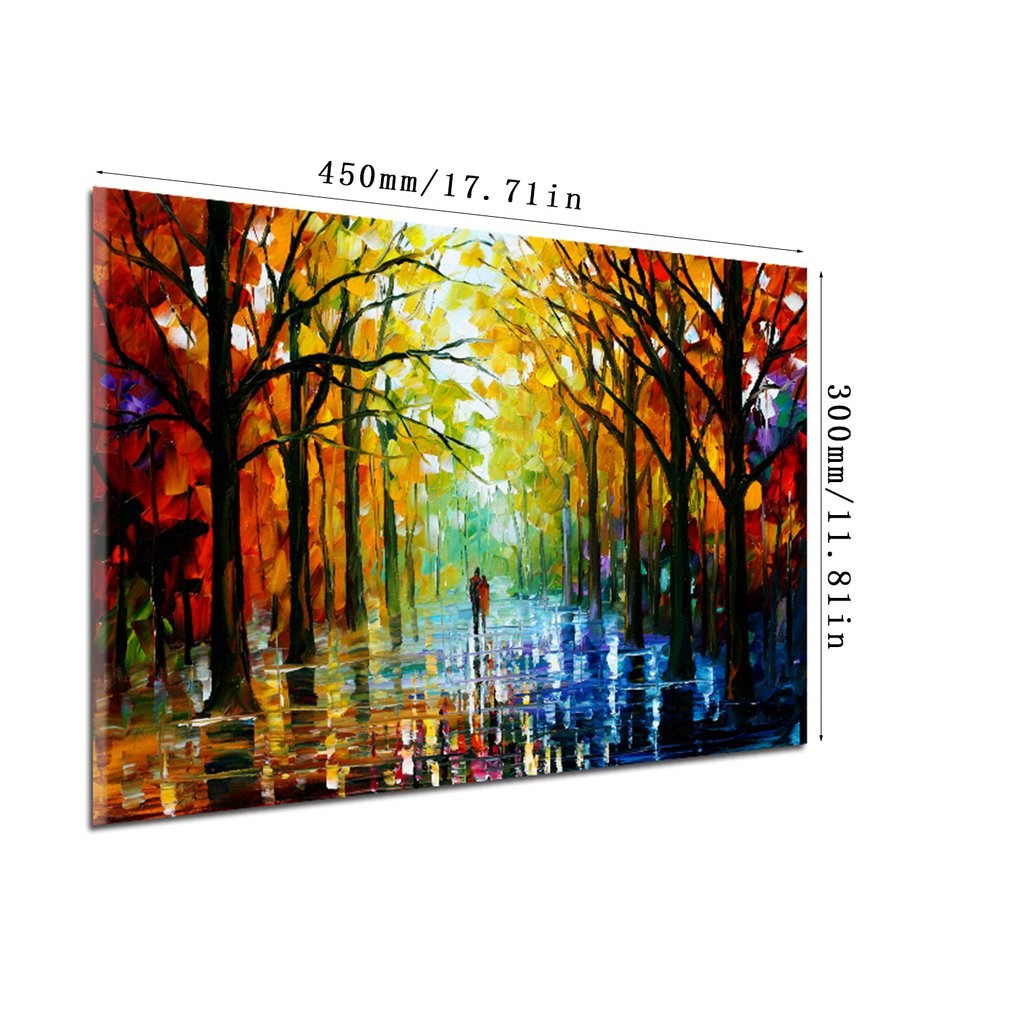 11325 Wood sidewalk Pattern Home Decoration Printed Wall Art Pictures Canvas Painting For Home Decaration