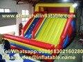 Slides playground inflável china jogos infláveis gigantes