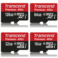 Transcend Memory card 128GB 64GB 32GB 16GB MicroSD MicroSDXC MicroSDHC Card 400X class10 UHS-1 TF Card for Phone Tablet Camera