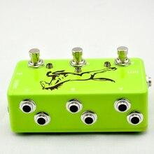 3 Looper-Junta-True Bypass Guitarra Pedal Loop de Efectos pedal de Efectos de guitarra pedal @ Guitare Verde interruptor