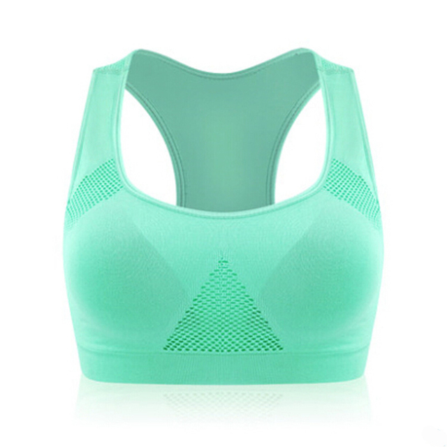 Womens sports bra for the active lady,  absorbs perspiration on the aerobic tank Vest, a seamless upholstery Sportes. Bra Crop Top Ml Xl