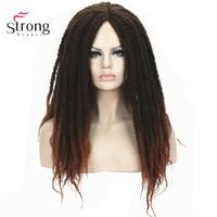 Long 28inch Braiding Hair Wig Box Braids Crochet Braids Hairstyles Wigs COLOUR CHOICES