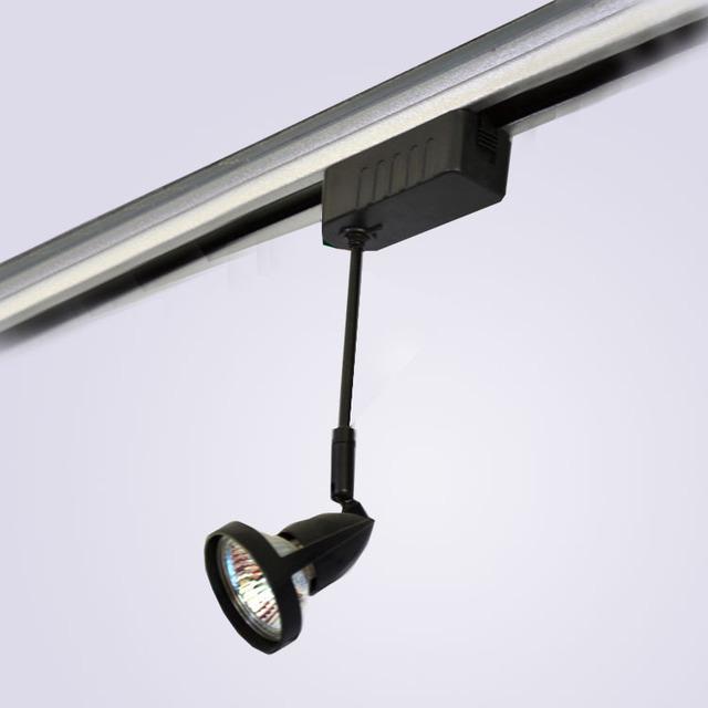 Led luz pista lâmpada halógena lâmpada de poupança de energia iluminação de pista ming montado holofotes luzes de parede 12 v