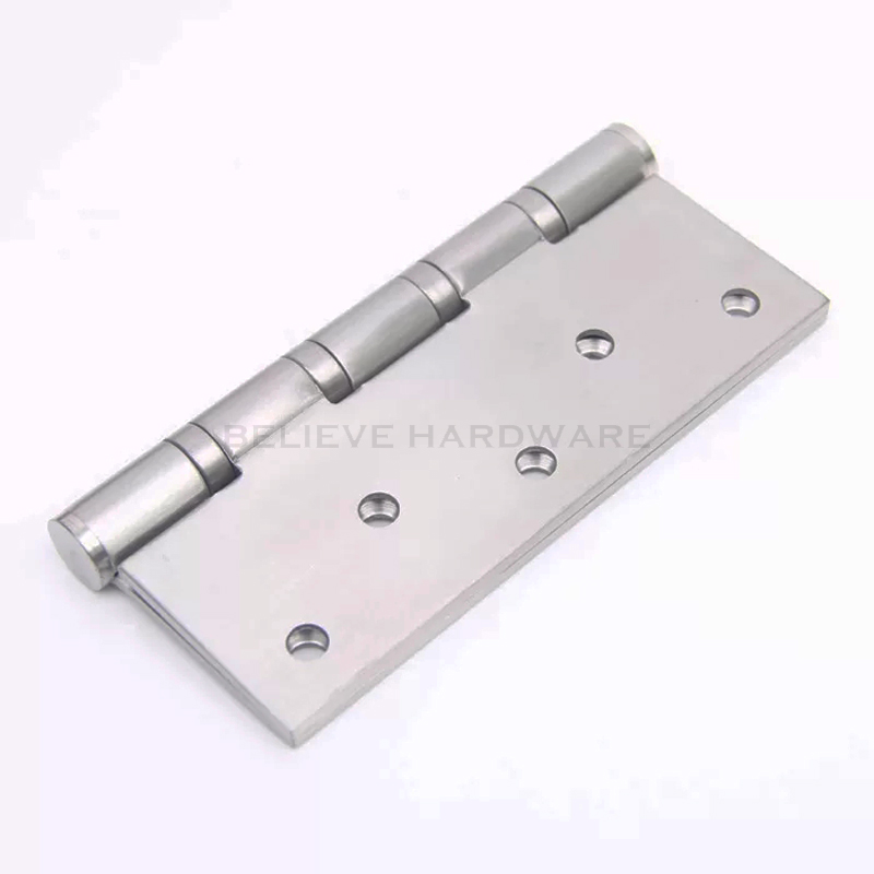 Quiet Flat opening Wooden Door Hinge Fireproof Bearing Hinges Made of Stainless Steel 3 Pieces/Lot W625063-in Door Hinges from Home Improvement on ... & Quiet Flat opening Wooden Door Hinge Fireproof Bearing Hinges Made ...