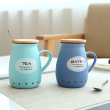 400ml Novelty Sky Star Creative Belly Porcelain Cup With Lid Milk  Water Ceramic Coffee Mugs Tea Cups Home Office Outdoor
