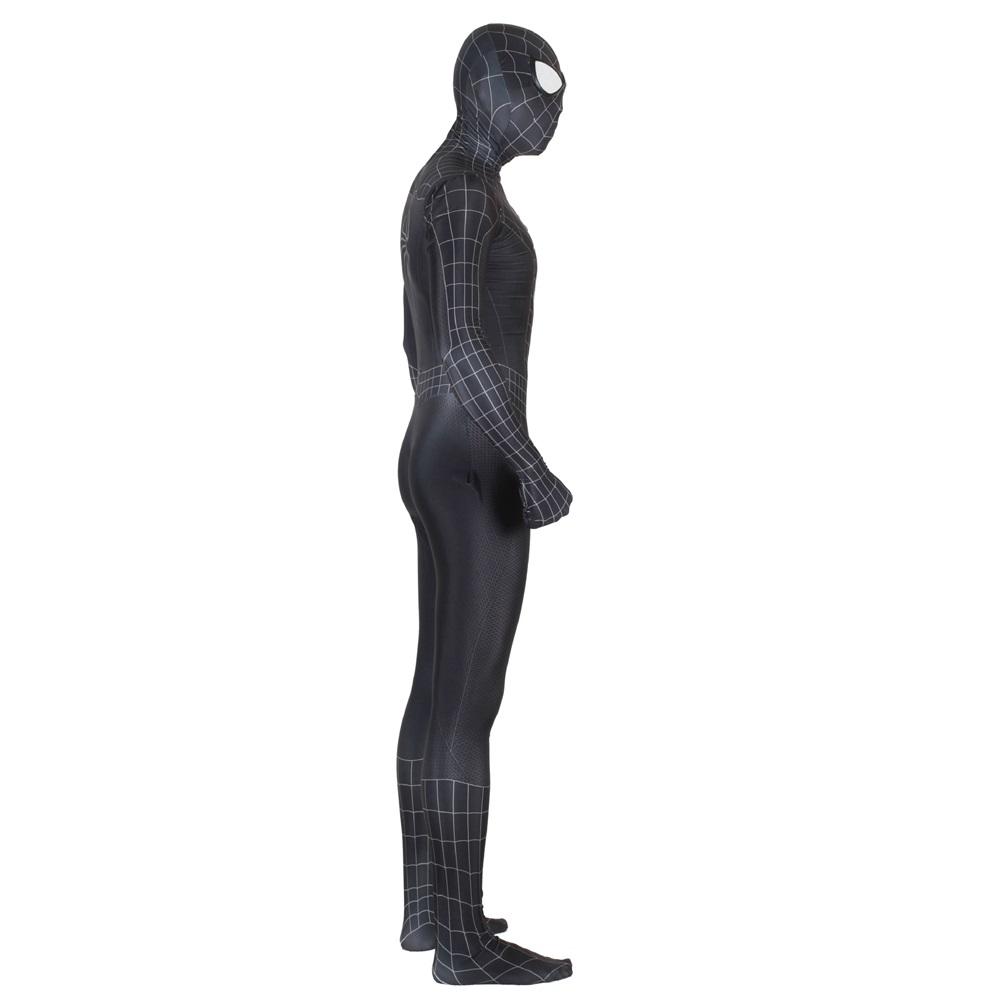 Image 4 - Unisex Kids Spiderman 3 Black Symbiote 3D Cosplay Costume Zentai Spider Man Superhero Bodysuit Suit Jumpsuits Halloween-in Movie & TV costumes from Novelty & Special Use
