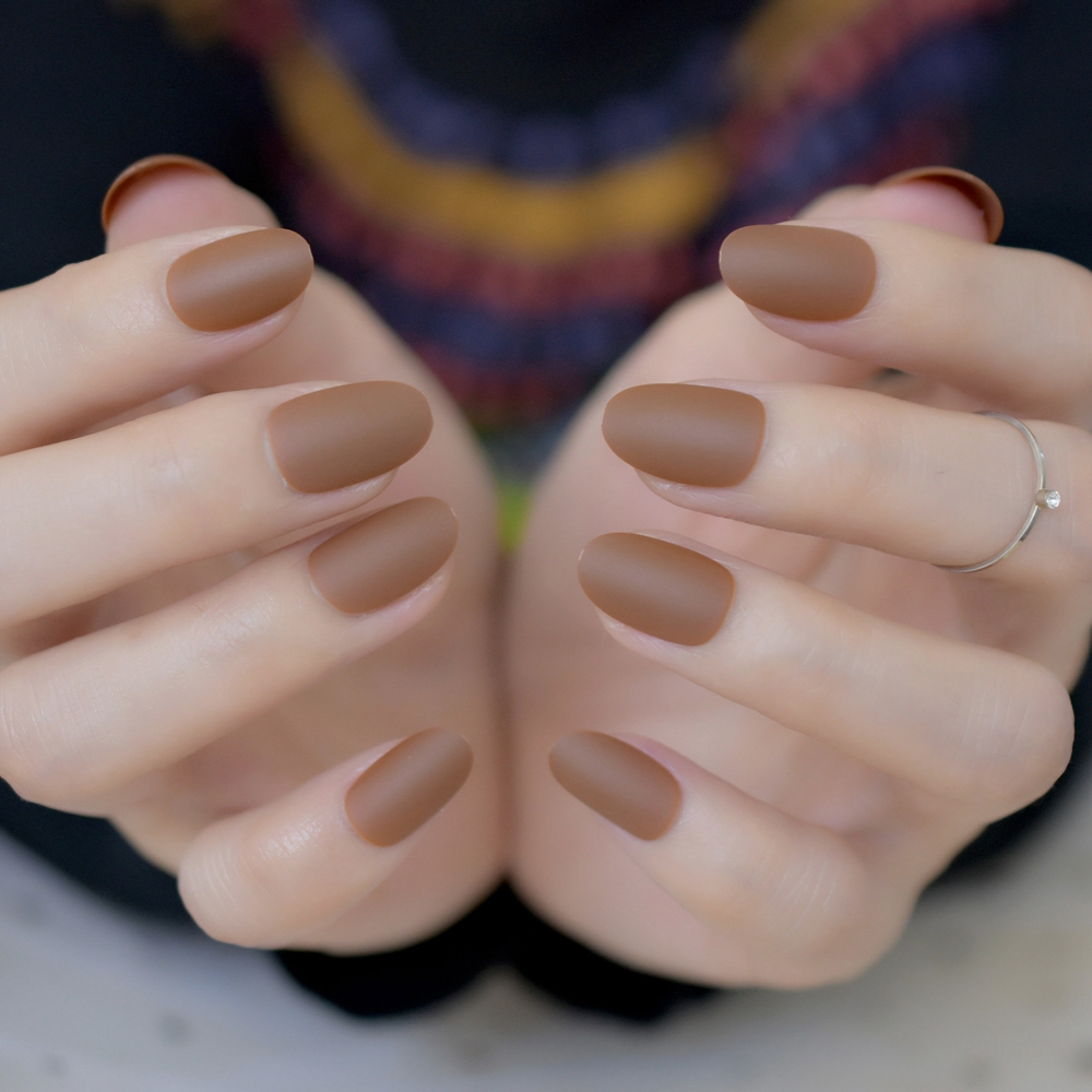 Beautiful Brown Nail Tips Mold - Nail Art Design Ideas ...