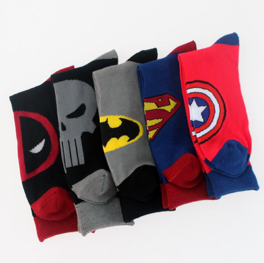 Marvel Superheroes Socks (5 Types)