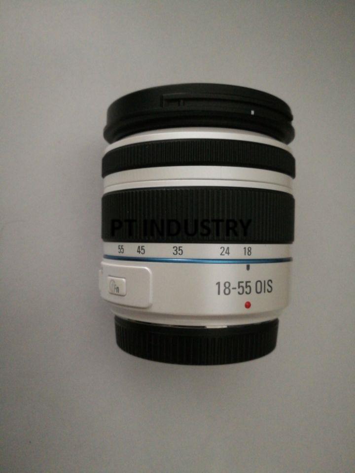 Original 18 55mm F3 5 5 6 OIS III White Zoom Lens For Samsung NX20 NX100