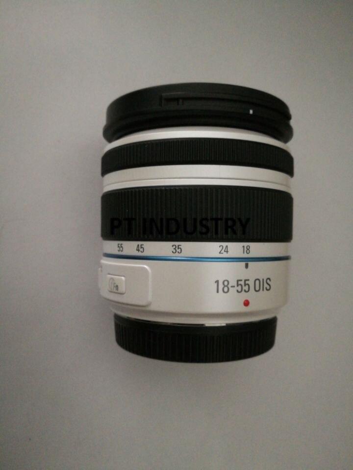 Originele 18 55mm F3.5 5.6 OIS III Wit Zoom Lens Voor Samsung NX20 NX100 NX1000 NX110 NX1100 NX200 NX2000 NX300 NX300M NX3000-in Len Onderdelen van Consumentenelektronica op  Groep 1