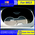 Car accessories for 2011-2016 MG MG3 anti slip sticker gate slot pad door mats carpet Interior Door Cup Holder