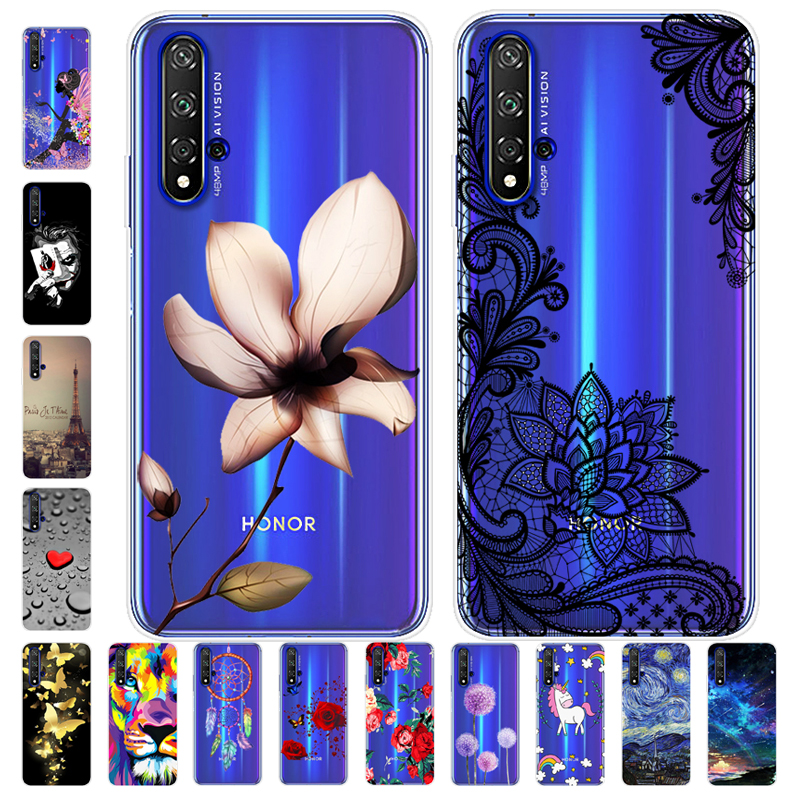 Cartoon Case For Huawei Honor 20 Case Honor 20 Case Soft Silicone Back Cover Phone Case For Huawei Honor 20 Lite Honor20 Pro