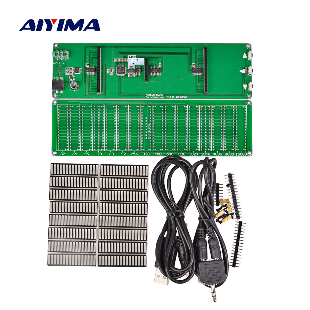 Aiyima 16 մակարդակի LED երաժշտության - Տնային աուդիո և վիդեո - Լուսանկար 2