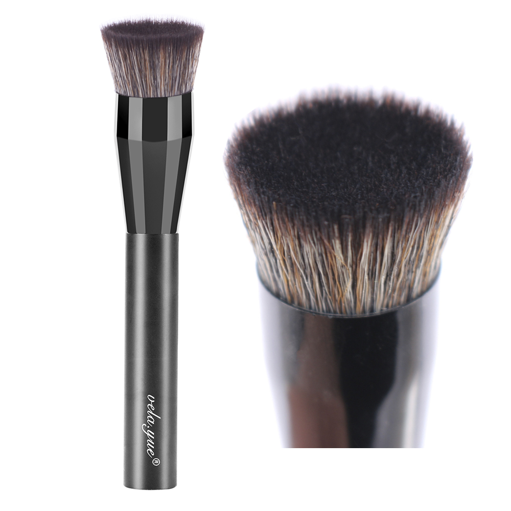 vela.yue PRO Liquid Foundation Brush Face Blush Makeup Tools vela yue pro foundation makeup brush press full coverage complexion brush face sponge function