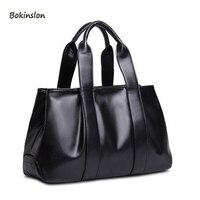2018New PU Material Women's Handbag Lady Shoulder Bag Fashion Retro Mobile Messenger Bag Big Bags