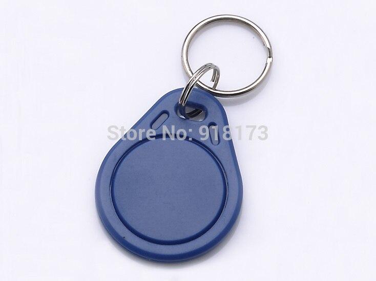 1000pcs/bag S50 RFID 13.56 Mhz IC Tag Token Key Ring IC cards Blue china fudan chip  nfc phone(except galaxy s4) hw v7 020 v2 23 ktag master version k tag hardware v6 070 v2 13 k tag 7 020 ecu programming tool use online no token dhl free