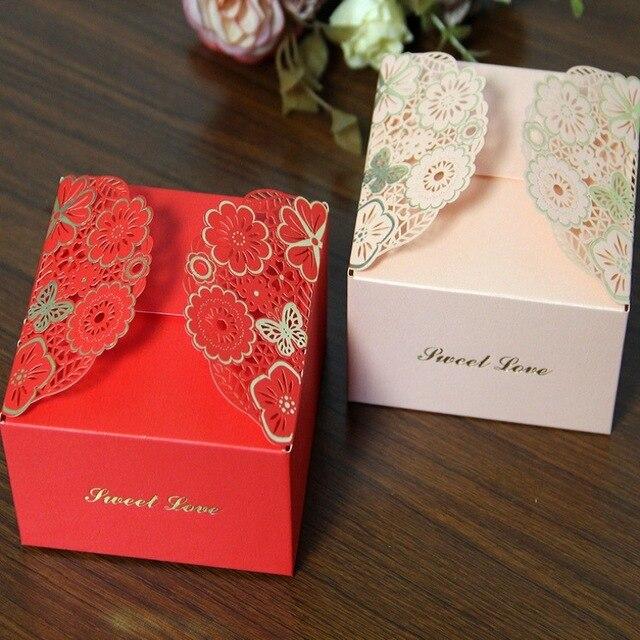 Romantic Wedding Favors Chocolate Box Paper Candy Box Diy Dessert