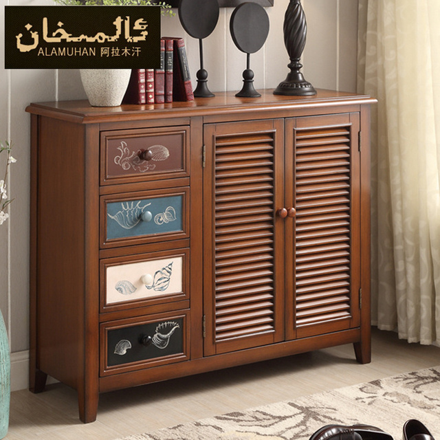 EMS FREE Home Furniture Modern European Style Shoe Cabinet