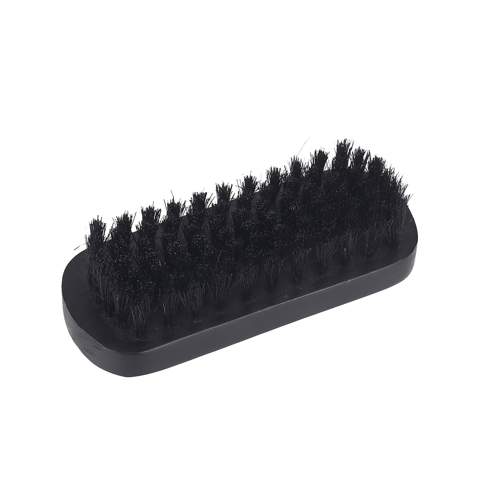 Shop For Cheap Boar Hair Bristle Black Mustache Brush Beard Care Beard Brush Gifts Shaving Brush Men Face Massager Soft Portable Fashion
