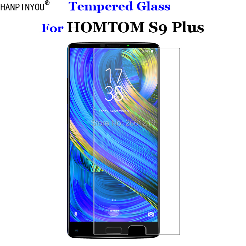 For HOMTOM S9 Plus Tempered Glass 9H 2.5D Premium Screen Protector Film For Homtom S9+ 5.99