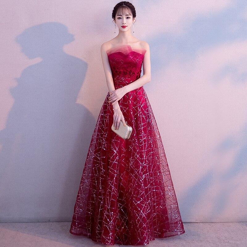 Oriental femmes soirée Cheongsam robe de mariée traditionnelle chinoise Style élégant Qipao longues robes rétro Vestido XS-XXXL