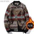 Moda marca clothing 2017 engrossar quente casacos de pele casacos de inverno dos homens de padrão masculino magro homem casaco chaqueta hombre jaqueta 5xl