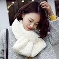 Мужчины и женщины зимой, чтобы согреться шарф Плюшевые имитация кашемира Корея моды теплый бархат Гибкие и удобные