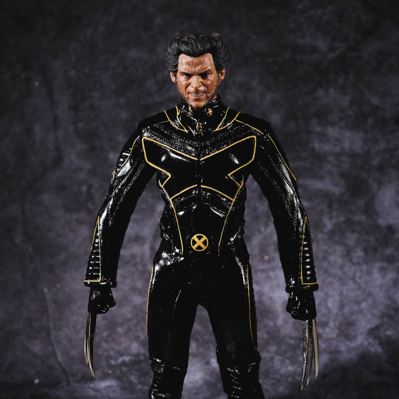 Marvel Comics X-Men The Last Stand Logan Wolverine 29cm Model Anime PVC Action Figure Kids Gift T35 marvel platinum the definitive x men reloaded