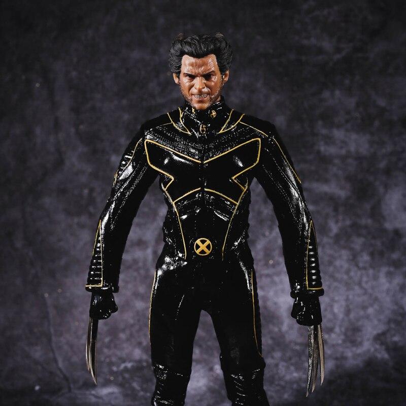 Marvel Comics X-Men The Last Stand Logan Wolverine 29cm Model Anime PVC Action Figure Kids Gift T35