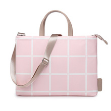 Waterproof PU Leather Laptop bag Women and Men Shoulder Portable Notebook bag 12 13.3 14 15 15.4 15.6 inch High quality 2018
