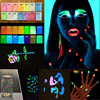 170g 17 Color Luminous Nail Polish Powder Glow In The Dark Glow Powder Photoluminescent Dust Luminous