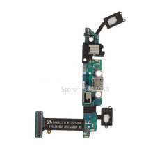 Voor Samsung Galaxy S6 G920 G920I G920A G920V G920F Dock Connector Charger Board Usb-poort Opladen Audio Jack Flex Kabel(China)
