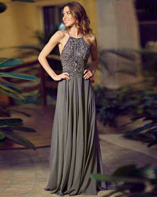 Style 92605 Formal Evening Gowns Dresses Spaghetti Straps Chiffon ...