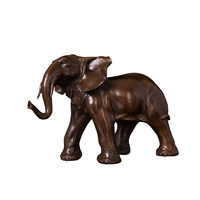 home decor metal ornament bronze animal the elephant statue sculpture