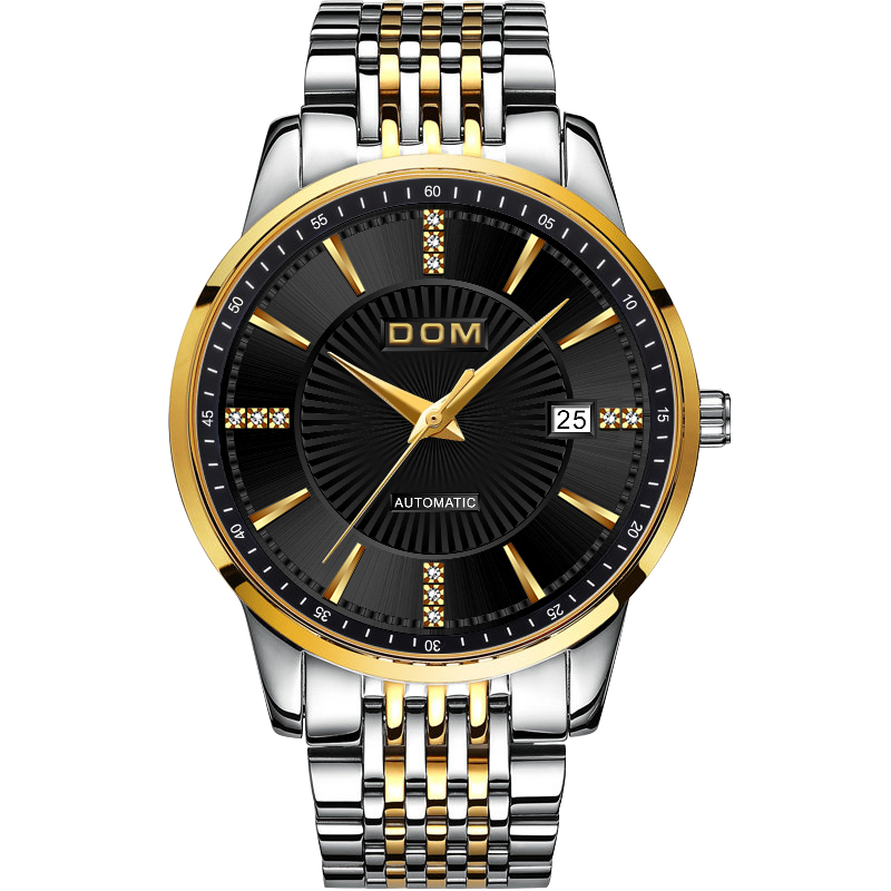 2018 New Relojes DOM Male Automatic mechanical Sport Watch Men Casual - Men's Watches