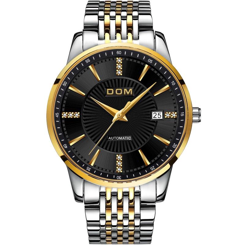 2018 Nieuwe Relojes DOM Mannelijke Automatische mechanische Sport - Herenhorloges