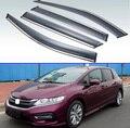 Для Honda Jade 2013-2020 пластиковый внешний козырек Vent Shades Window Sun Rain Guard дефлектор 4 шт