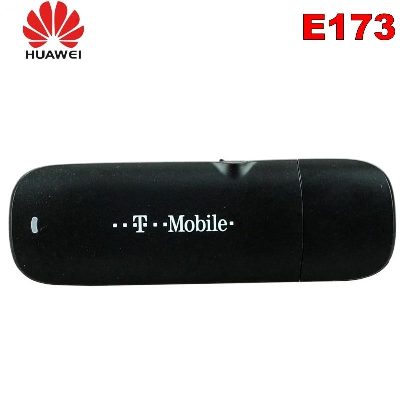 Lot de 100 pièces Huawei E173 WCDMA 3G Modem Sans Fil USB Dongle Adaptateur SIM TF Carte HSDPA BORD GPRS