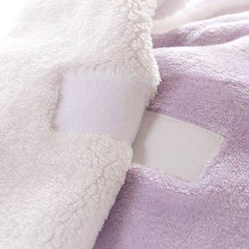 Warm Fleece Unicorn Design Baby Blanket Sleeper 5