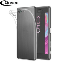 Qosea For Coque Sony Xperia X Performance Case Transparent Ultra-thin Slim Fashion Silicone Soft TPU For Sony X Protective Cover